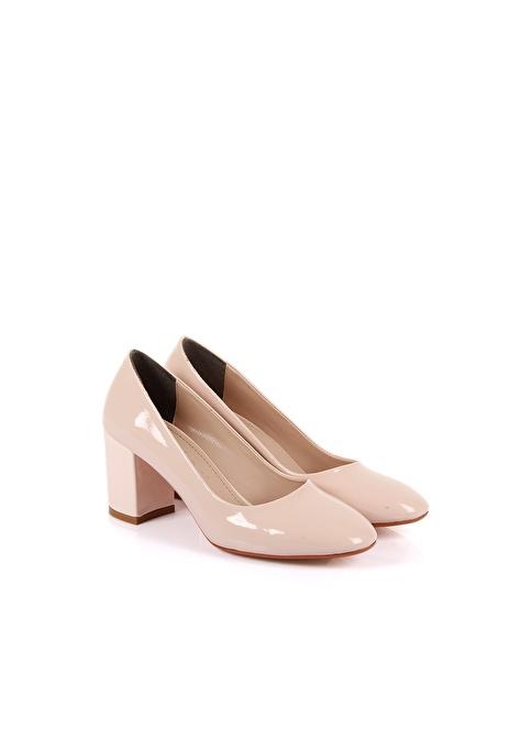 G.Ö.N. Topuklu Ayakkabı Pudra